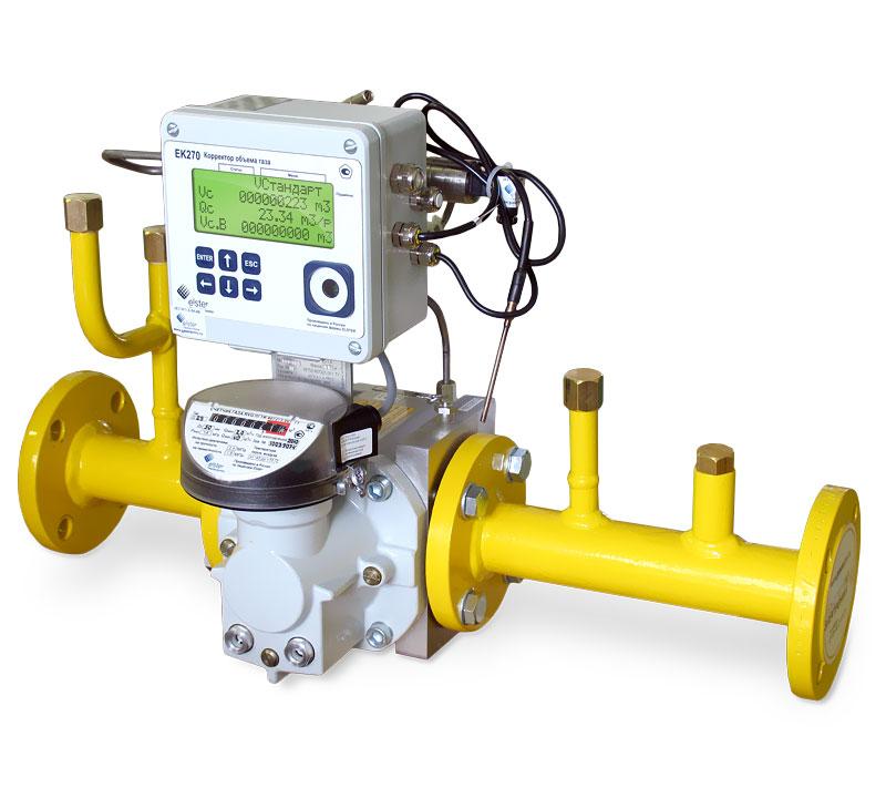 Измерительный комплекс учета расхода газа Поток-650-1,0-Л(П)